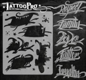 Picture of Tattoo Pro Stencil - Good Words (ATPS132)