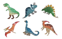 Picture of Dinosaur Stencil Collection (12pc)