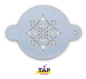 Picture of TAP 081 Face Painting Stencil Snowflake-Flower