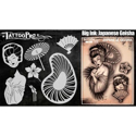 Picture of Tattoo Pro Stencil - BIG INK - Geisha (ATPS-BGNK-101)