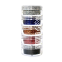 Picture of Vivid Glitter Stackable Loose Glitter - Snappin Rainbow 5pc (10g)