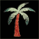 Picture of Palm Tree - Sparkle Stencil (1pc)