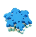 "Picture of 6"" Holiday Foam-Fun Shape Stacks - Snowflake (20pc) (KX040)"