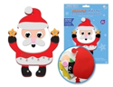 Picture of DIY Foam-Fun Craft Pal Kit Peel-n-Stick - Santa Star ( KX192 )