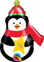 "Picture of Precious Penguin Foil Balloon - 14"" (1pc)"