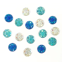 Picture of Round Gems - Icy Set - 10mm (16 pc) (AG-R4)