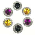 Picture of Double Round Gems - Spooky Set - 16mm  (6 pc.) (AG-DRL2)