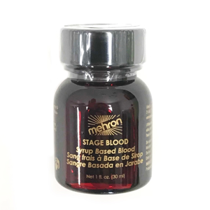 Picture of Mehron - Stage Blood with Brush 1oz