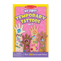 Picture of Melissa & Doug My First Temporary Tattoos: Rainbows, Fairies, Flowers, and More