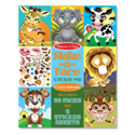 Picture of Melissa & Doug - Make-a-Face Sticker Pad - Crazy Animals (170+ Stickers)