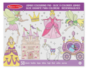 Picture of Melissa & Doug - Jumbo Coloring Pad - Princess & Fairy (50 Pages)
