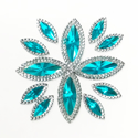 Picture of Double Pointed Eye Gems - Turquoise - 6x14mm & 10x25mm (12 pc.) (AG-DPET)