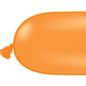 Picture of 350Q Latex Balloons, Orange (100/bag)