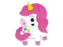Picture of Krafty Kids Kit: DIY Foam Friends Craft Kit - White Unicorn (CK192-S)