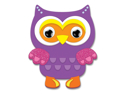 Picture of Krafty Kids Kit: DIY Foam Friends Craft Kit - Owl (CK192-N)