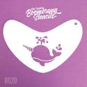 Picture of Art Factory Boomerang Stencil - Narwhal (B020)