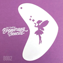 Picture of Art Factory Boomerang Stencil - Pixie Kiss (B002)