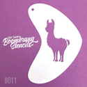 Picture of Art Factory Boomerang Stencil - Llama (B011)