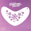 Picture of Art Factory Boomerang Stencil - Frozen Snowflakes (B032)