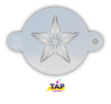 Picture of TAP 101 Face Painting Stencil - Super Star