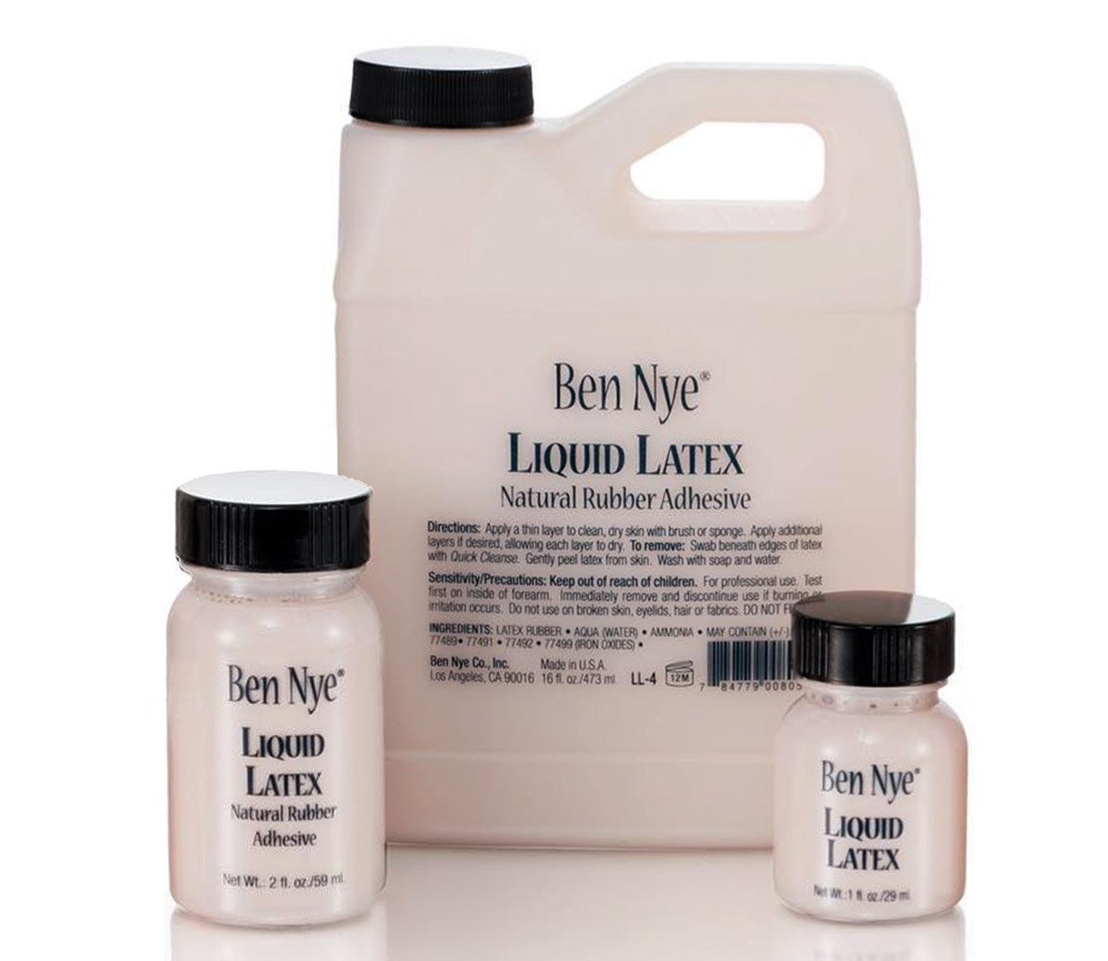 Picture of Ben Nye - Liquid Latex - 16 oz (LL4)