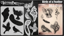 Picture of Tattoo Pro Stencil -  Birds of a Feather  (ATPS185)
