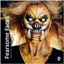 Picture of Fearsome Faces Book by Matteo Arfanotti