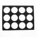 "Picture of Superstar - Foam Insert for Plastic Case - 12 Round Slots (45g) (9.65""x12.2"")"