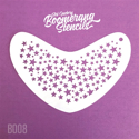 Picture of Art Factory Boomerang Stencil - Stars (B008)
