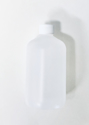 Picture of Empty HDPE Boston Round bottle: 16oz