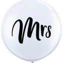 Picture of Qualatex 3FT Round - Mrs. Balloon (2/bag)