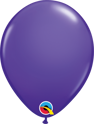 "Picture of Qualatex 5"" Round - Purple Violet Balloons (100/bag)"