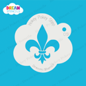 Picture of Fleur de Lis Symbol - Dream Stencil - 05