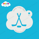 Picture of Hockey - Dream Stencil - 11