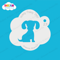 Picture of Puppy - Dream Stencil - 23