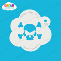 Picture of Scary Skull - Dream Stencil - 30