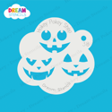 Picture of Pumpkin Faces - Dream Stencil - 38