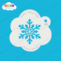 Picture of Frozen Snowflake - Dream Stencil - 45
