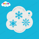Picture of Snowflake Trio - Dream Stencil - 61