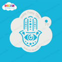Picture of Hamsa Hand Evil Eye - Dream Stencil - 77
