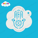 Picture of Hamsa Hand Flower - Dream Stencil - 78