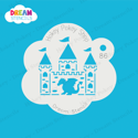 Picture of Dragon Castle - Dream Stencil - 86