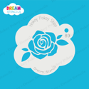 Picture of Blooming Rose - Dream Stencil - 89