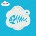 Picture of Fish Bones - Dream Stencil - 160