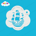 Picture of Ship - Dream Stencil - 159