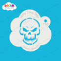 Picture of Evil Skull - Dream Stencil - 150