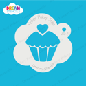 Picture of Cupcake  - Dream Stencil - 257