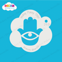 Picture of Hamsa Hand - Dream Stencil - 263