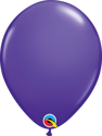 "Picture of Qualatex 11"" Round - Purple Violet Balloons (100/bag)"