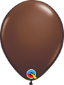 "Picture of Qualatex 11"" Round - Chocolate Brown Balloons (100/bag)"